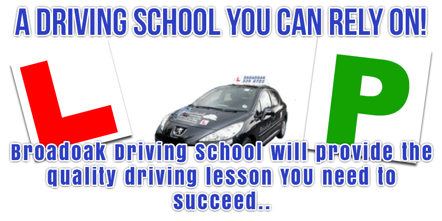 Driving lessons with Broadoak School Of Motoring
